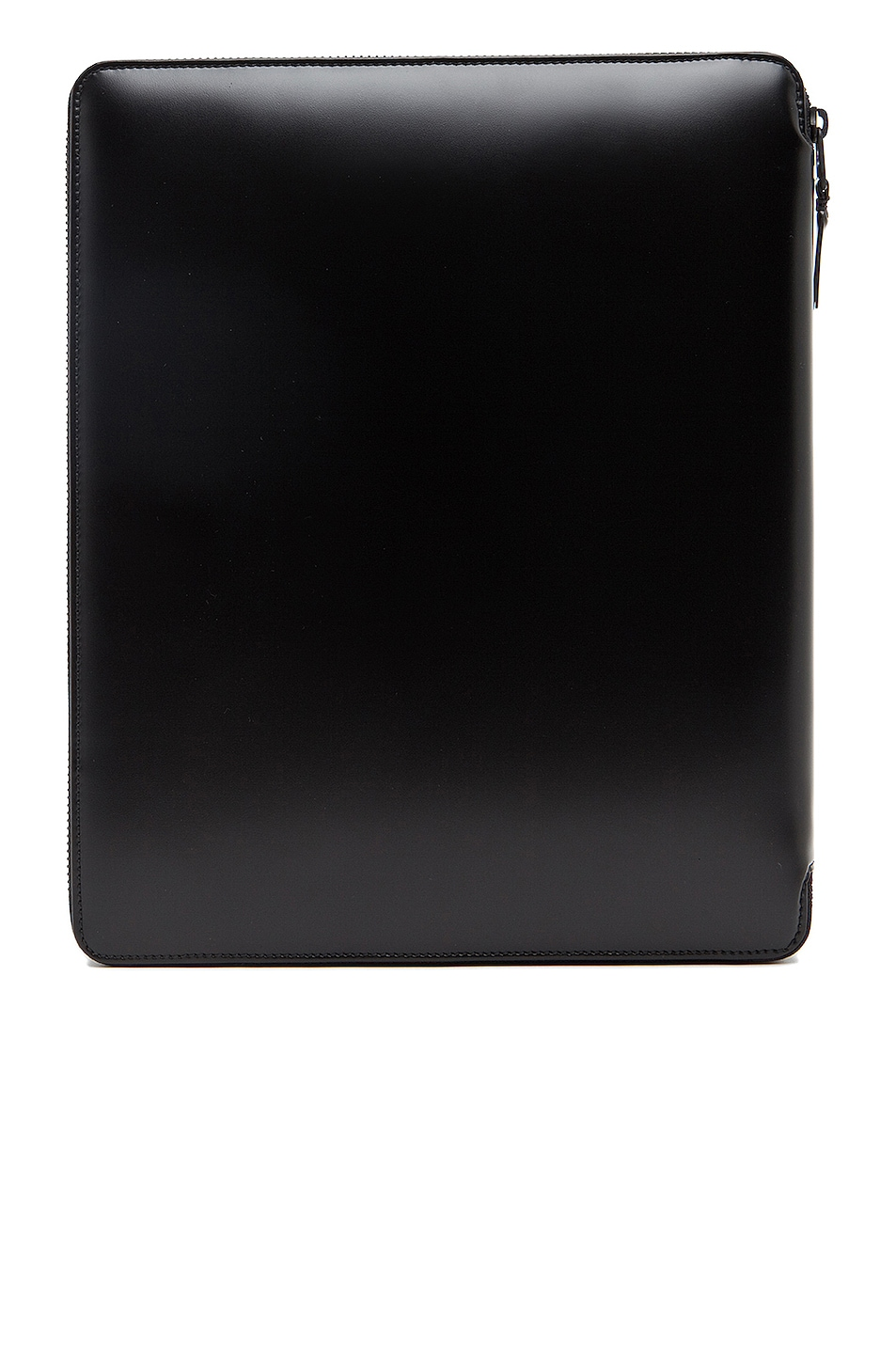 Image 2 of Comme Des Garcons Luxury Leather iPad Case in Black