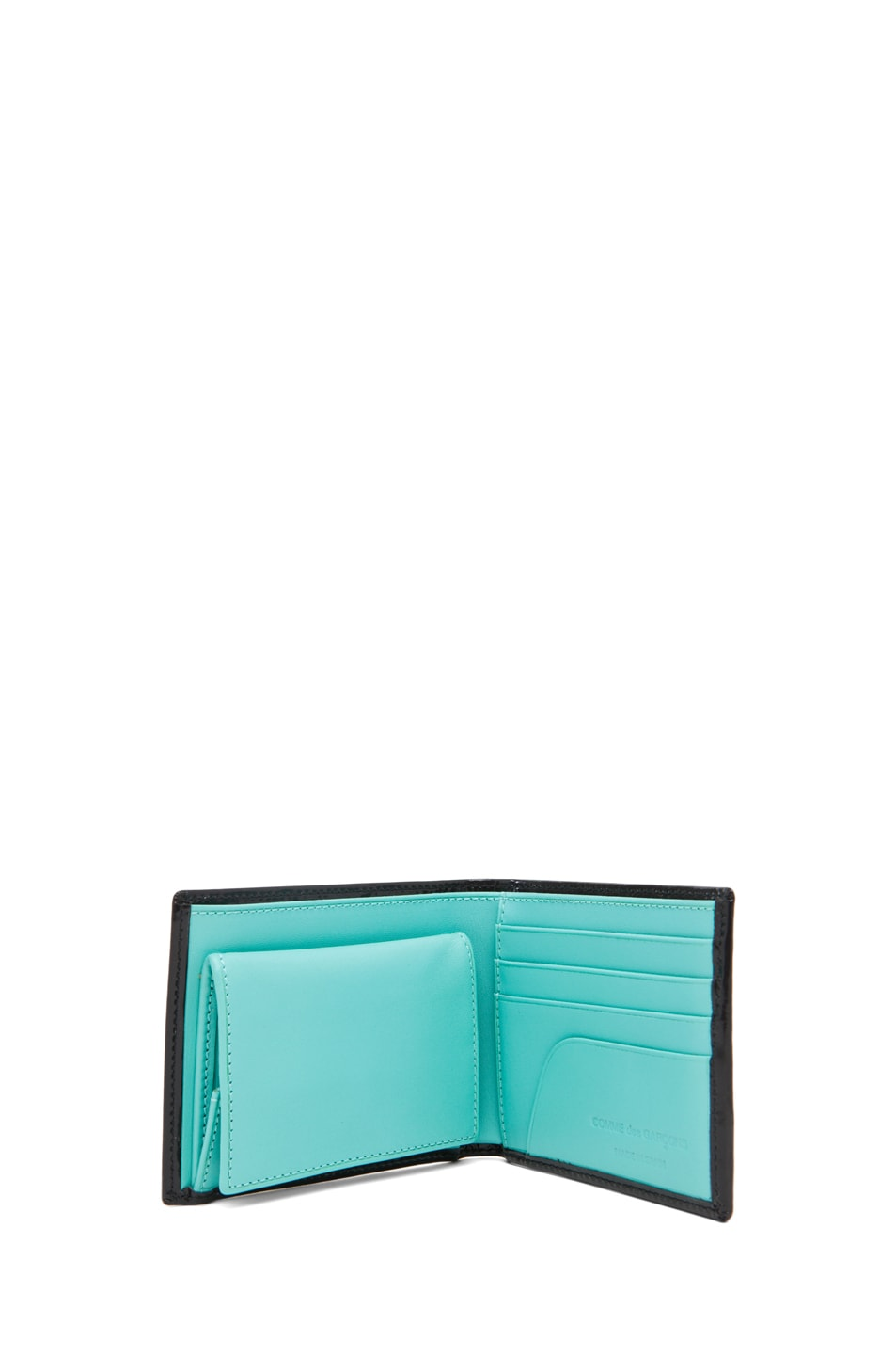 Image 4 of Comme Des Garcons Classic Billfold Wallet in Blue