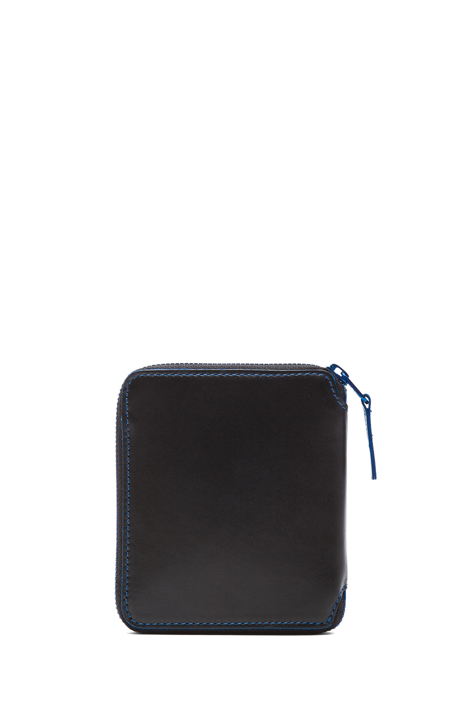 Image 2 of Comme Des Garcons Marvellous Zip Wallet in Blue