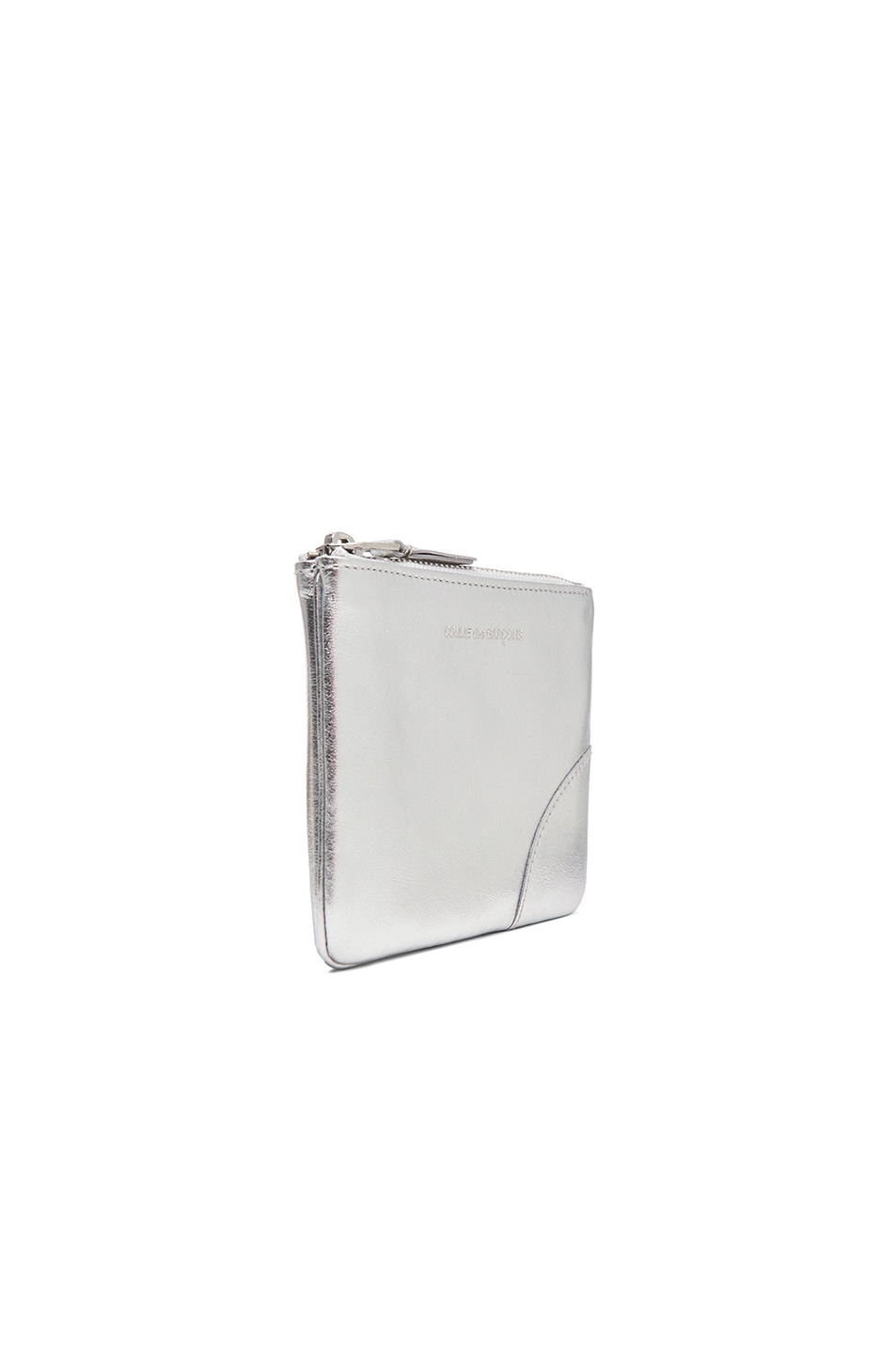 Image 3 of Comme Des Garcons Gold Line Small Pouch in Silver