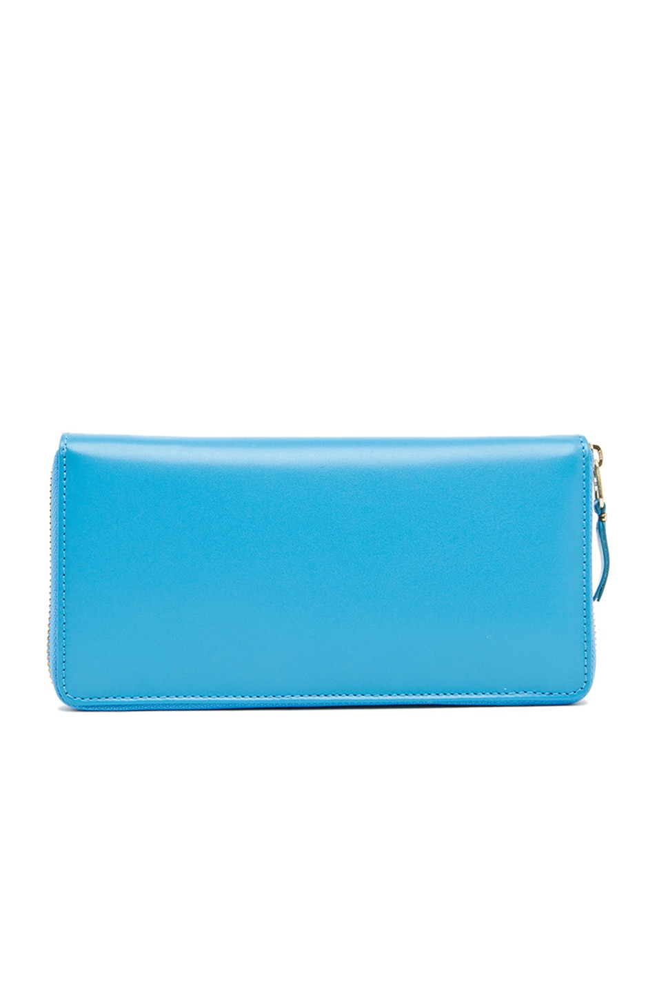 Image 2 of Comme Des Garcons Classic Long Wallet in Blue