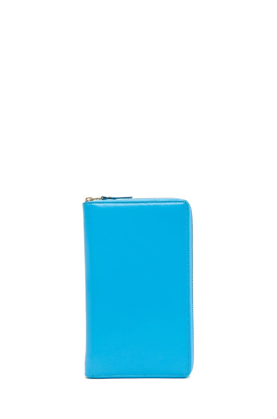 Image 1 of Comme Des Garcons Travel Wallet in Blue