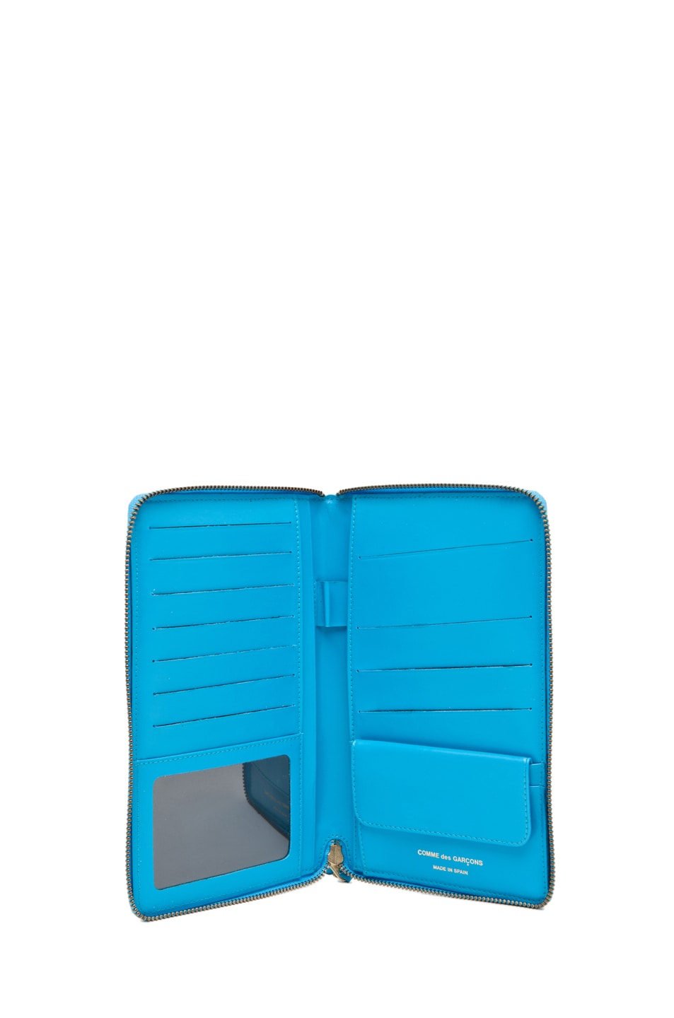 Image 4 of Comme Des Garcons Travel Wallet in Blue
