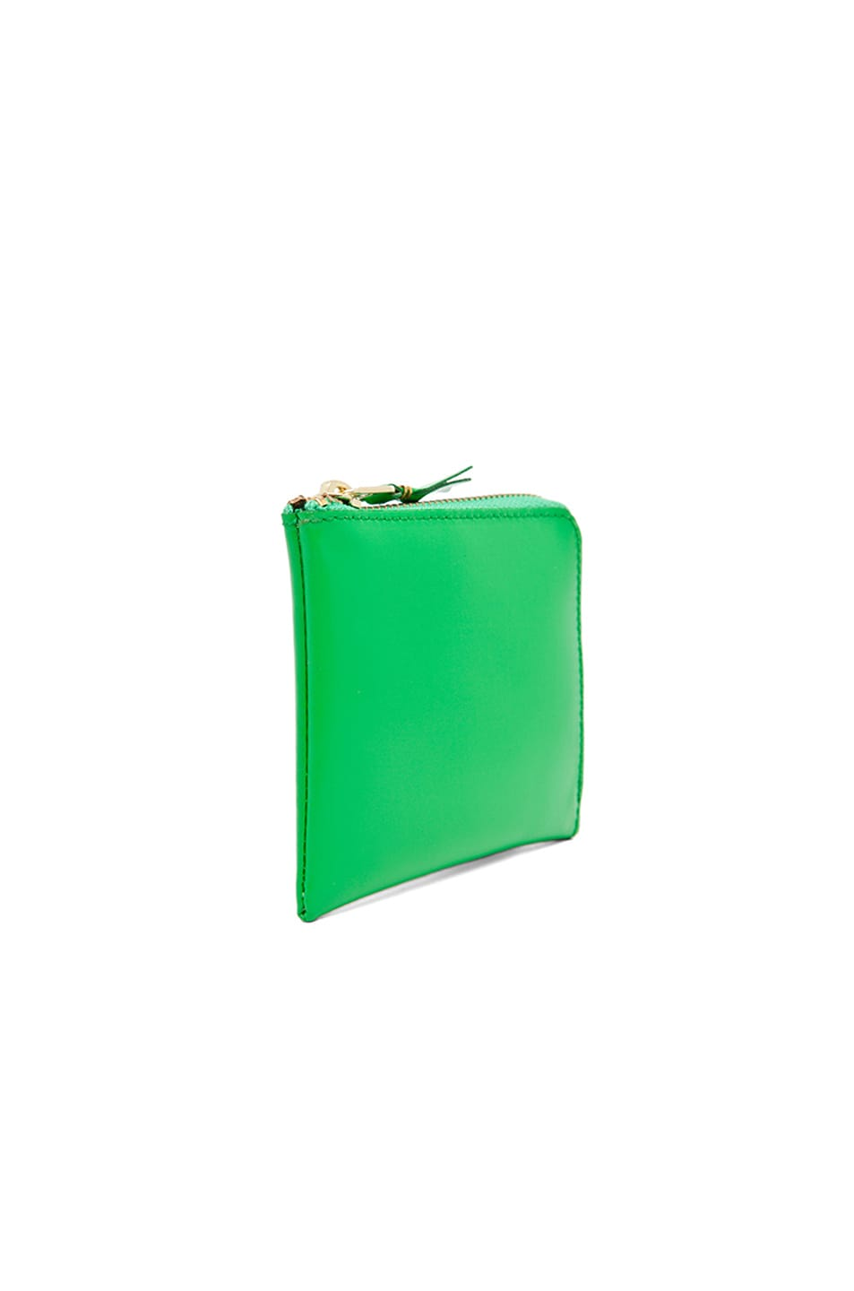 Image 3 of Comme Des Garcons Small Zip Wallet in Green