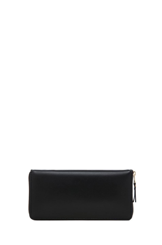 Image 2 of Comme Des Garcons Classic Zip Around Wallet in Black