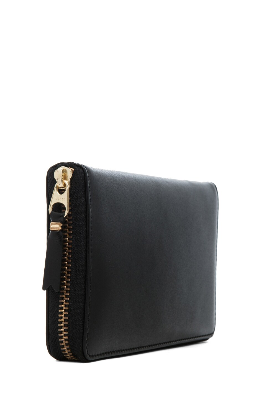Image 3 of Comme Des Garcons Classic Zip Around Wallet in Black