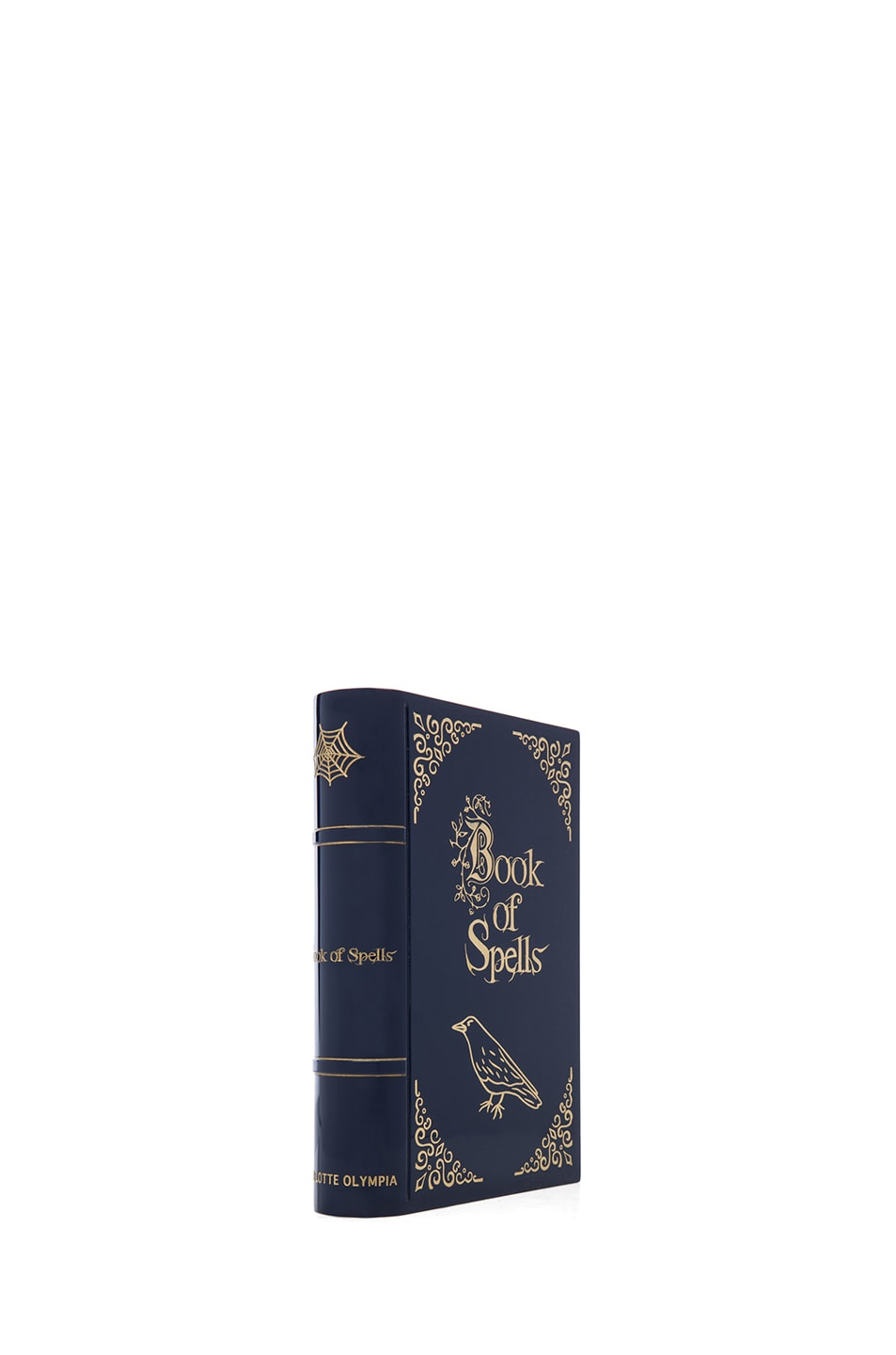 Image 3 of Charlotte Olympia Novel Clutch in Midnight