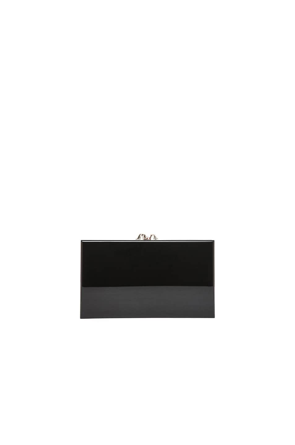 Image 2 of Charlotte Olympia Pandora Clutch in Black