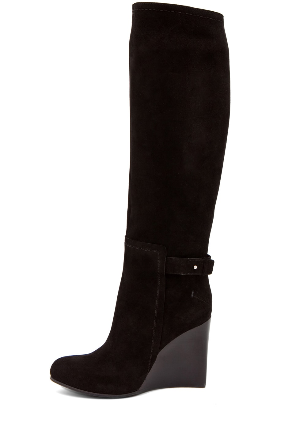 Image 1 of CoSTUME NATIONAL Wedge Boot in Black