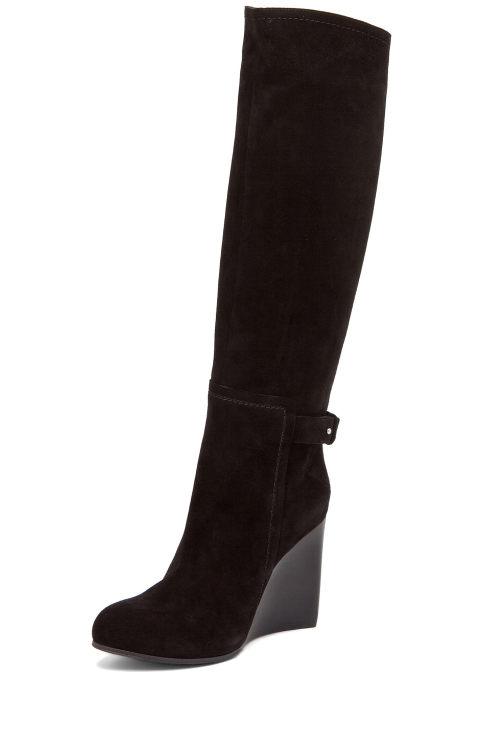 Image 2 of CoSTUME NATIONAL Wedge Boot in Black