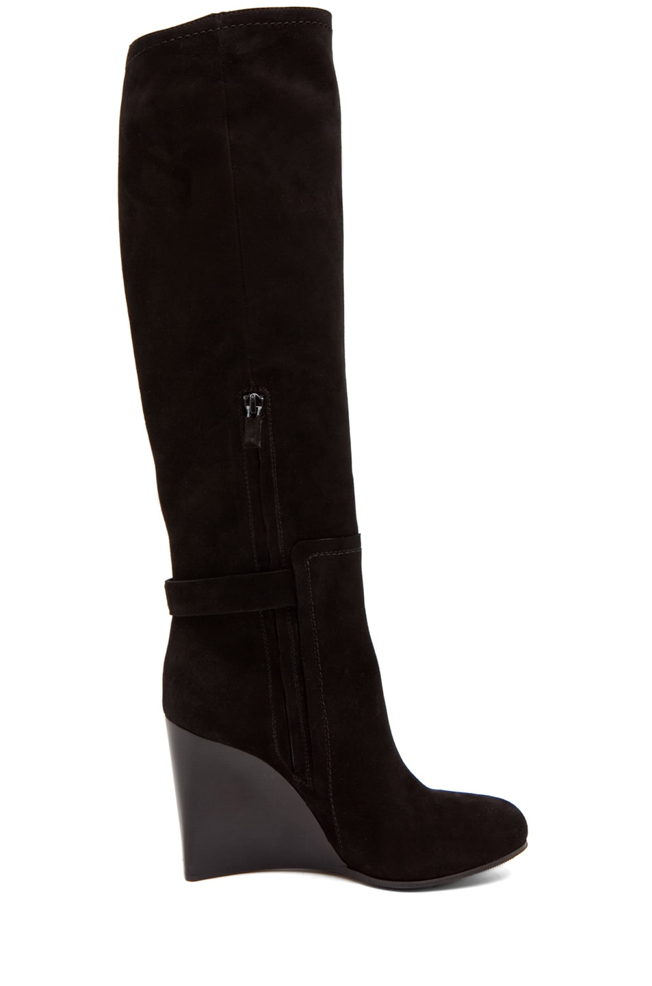 Image 5 of CoSTUME NATIONAL Wedge Boot in Black