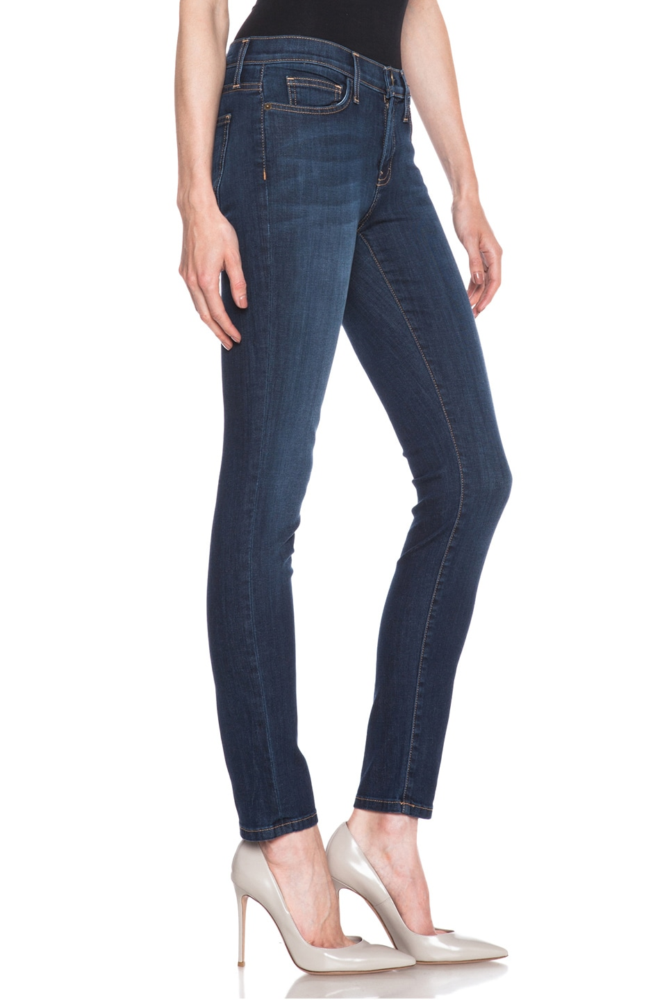 Image 3 of Current/Elliott Ankle Skinny in Stagecoach