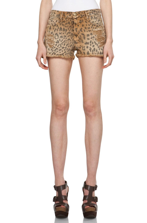 Image 1 of Current/Elliott Short in Camel Leopard