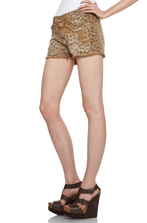 Image 2 of Current/Elliott Short in Camel Leopard
