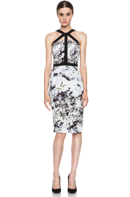 Image 1 of Cushnie et Ochs Dress in Ink Floral