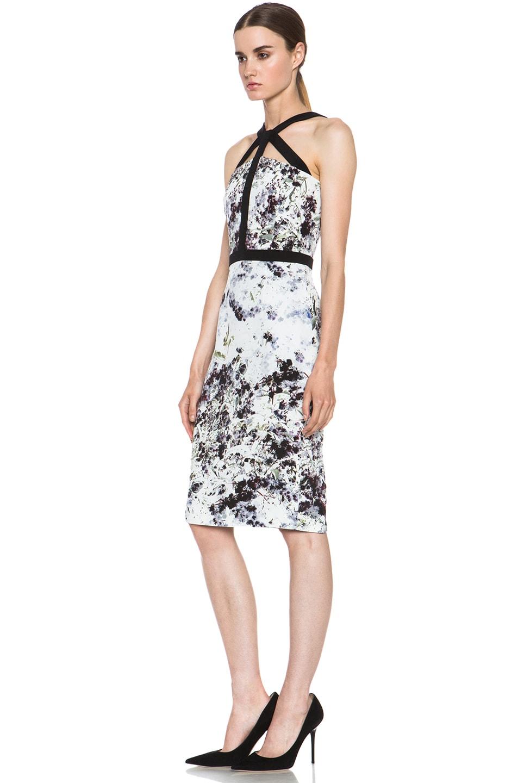Image 2 of Cushnie et Ochs Dress in Ink Floral