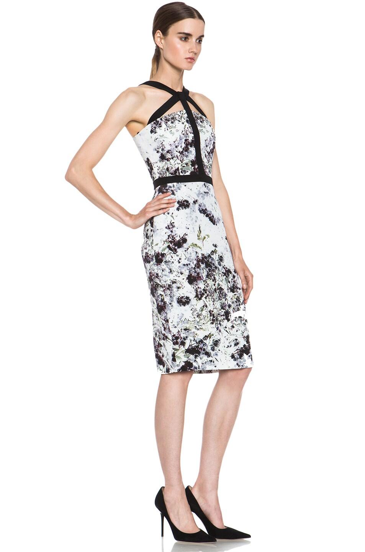 Image 3 of Cushnie et Ochs Dress in Ink Floral