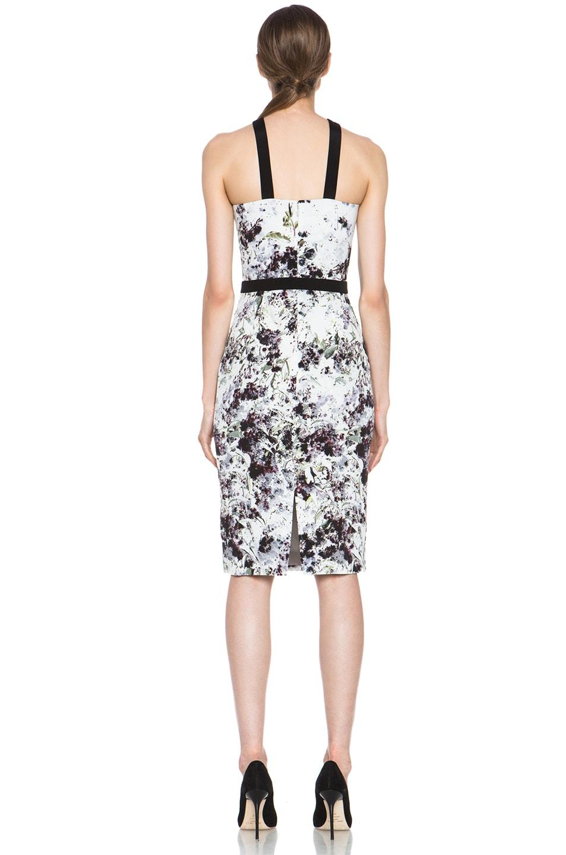 Image 4 of Cushnie et Ochs Dress in Ink Floral