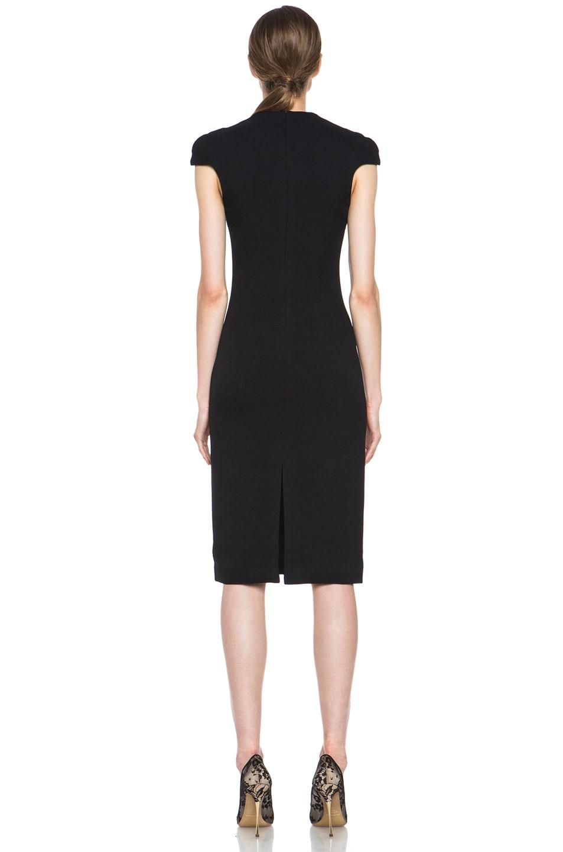 Image 4 of Cushnie et Ochs Acetate-Blend Dress in Black