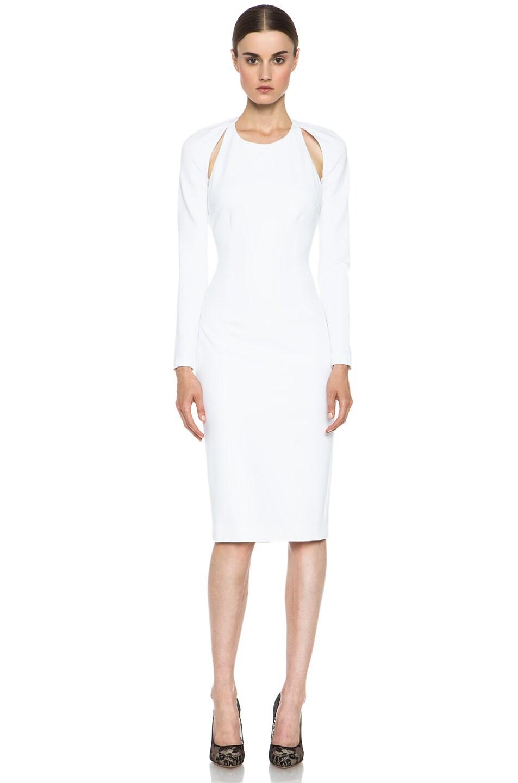Image 1 of Cushnie et Ochs Oscar Dress in White