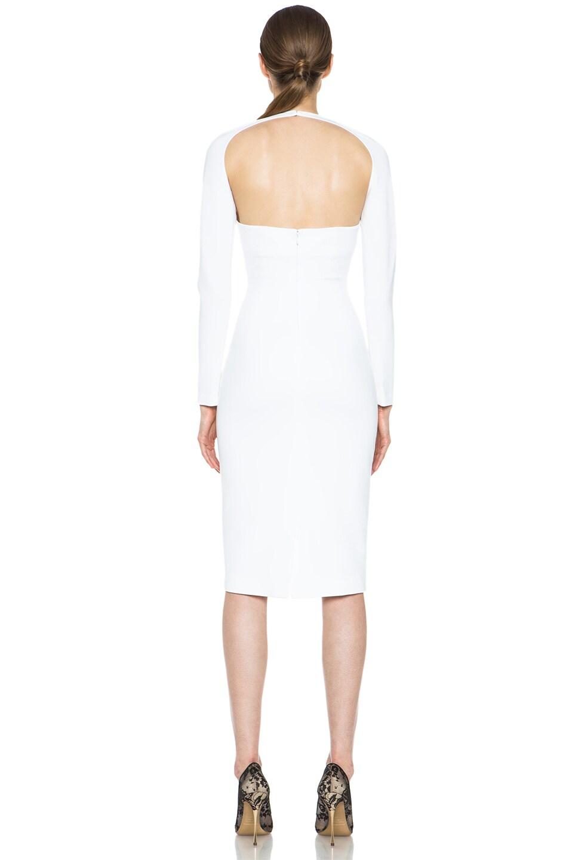 Image 4 of Cushnie et Ochs Oscar Dress in White