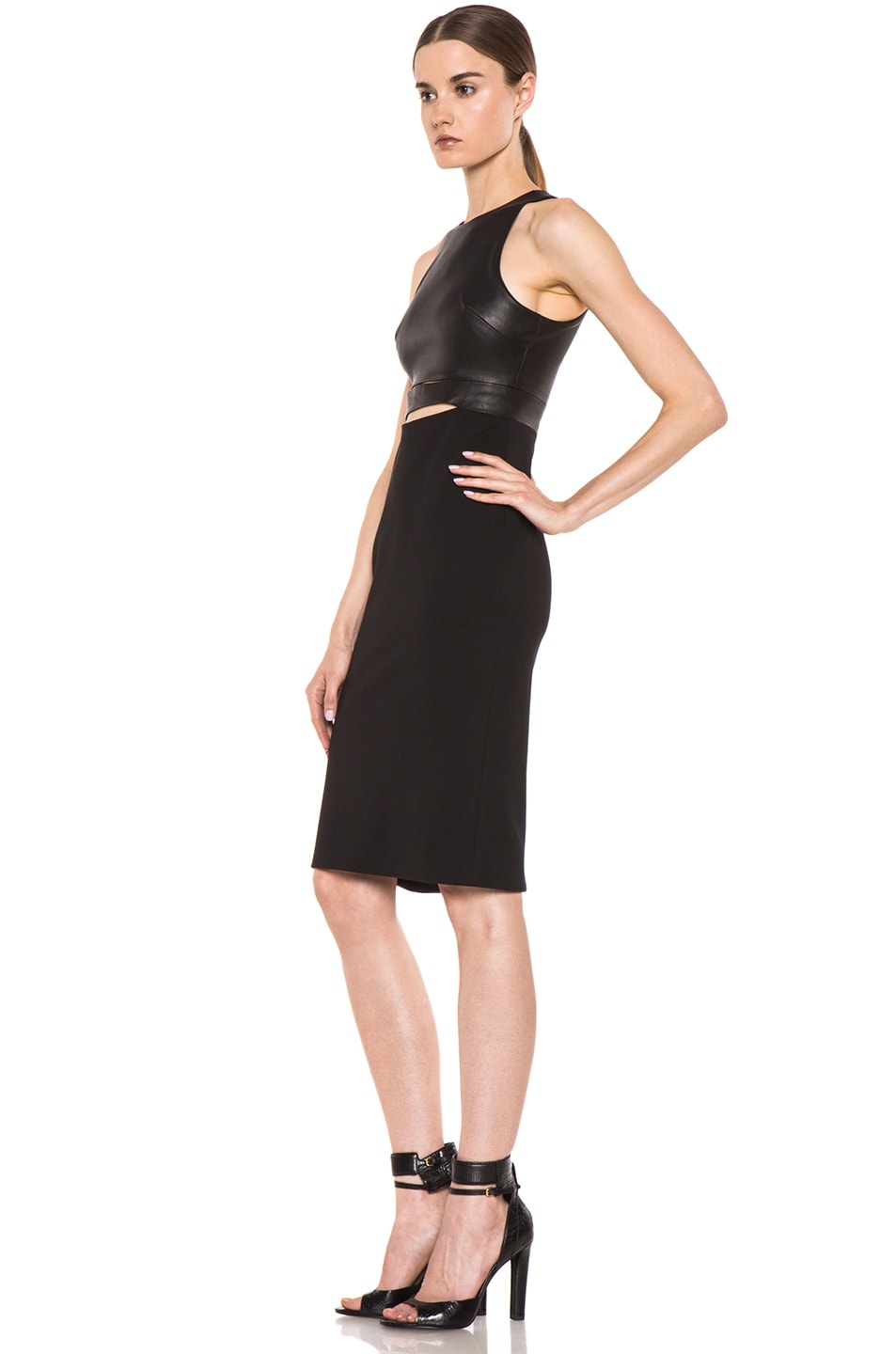 Image 2 of Cushnie et Ochs Michelle Ochs Dress in Black