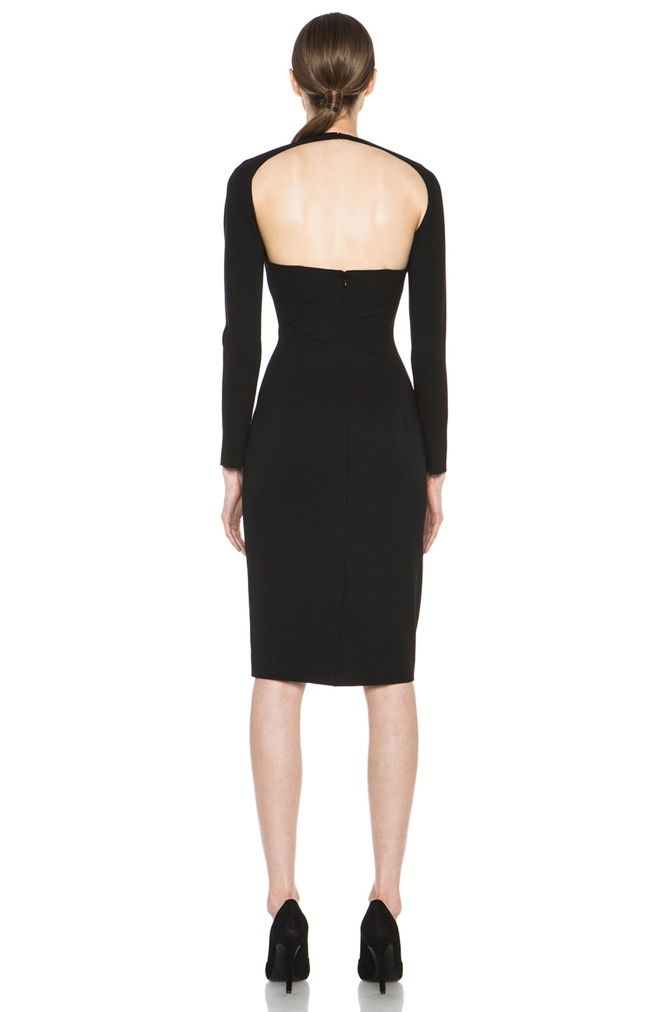 Image 4 of Cushnie et Ochs Oscar Jersey Dress in Black
