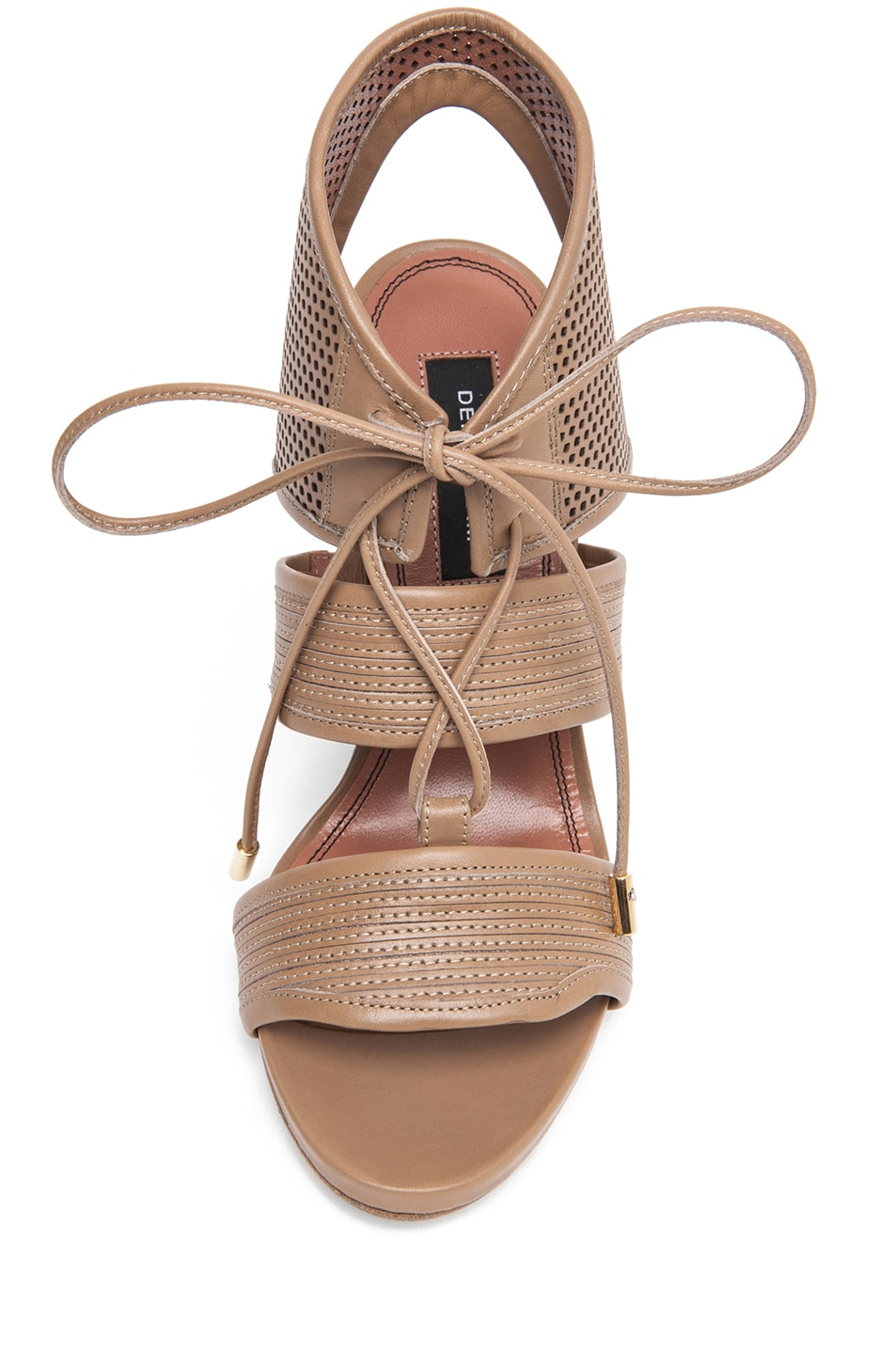 Image 4 of Derek Lam Brooklyn Sandal Wedge in Sahara