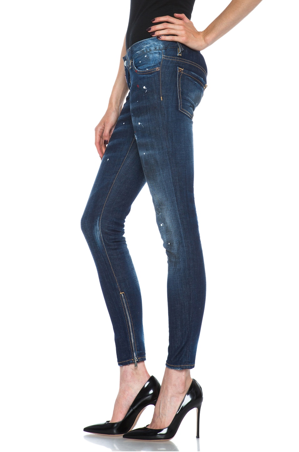 Image 2 of DSQUARED Super Slim in Rookie