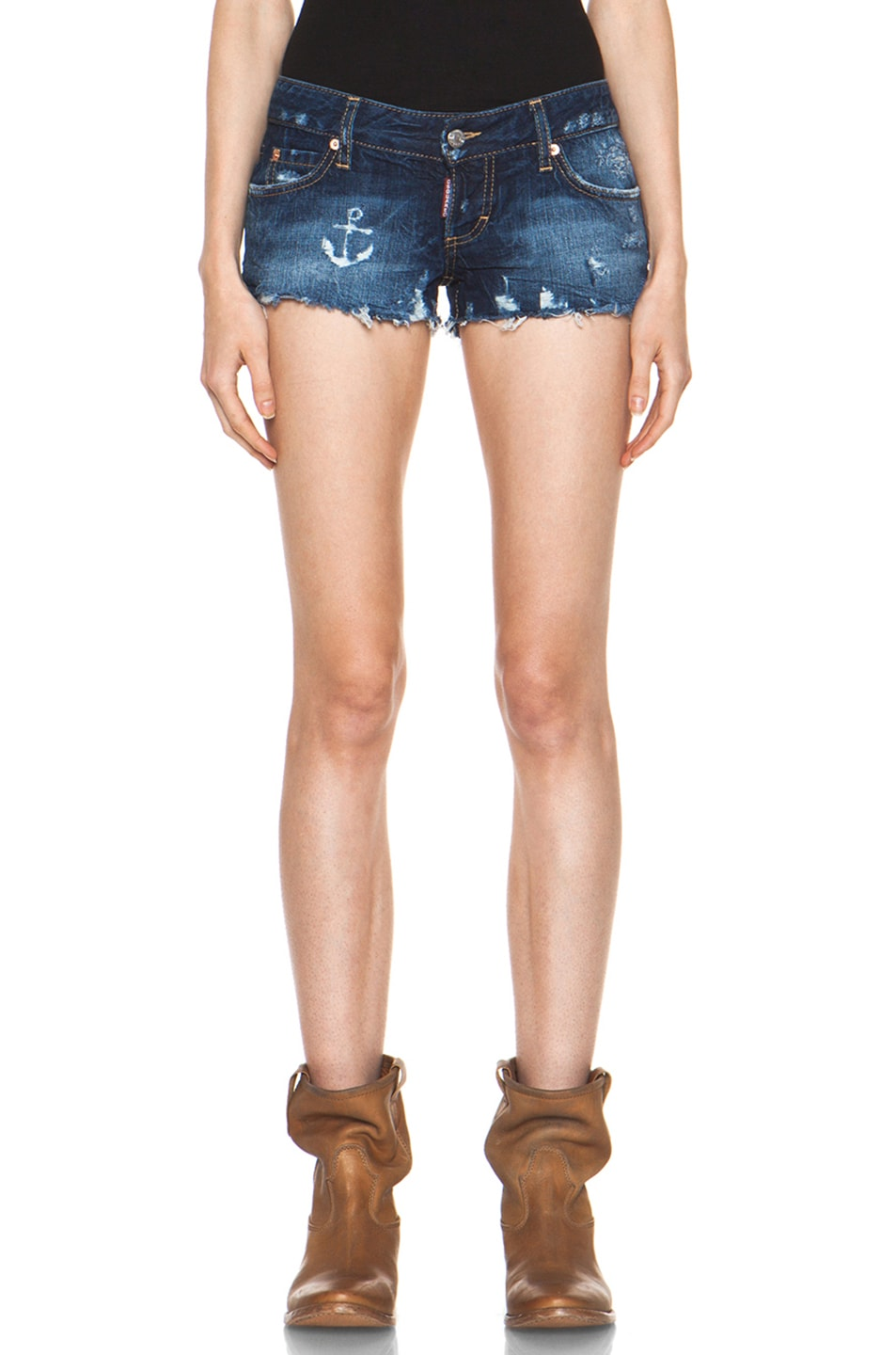 Image 1 of DSQUARED Sail Shorts in Blue