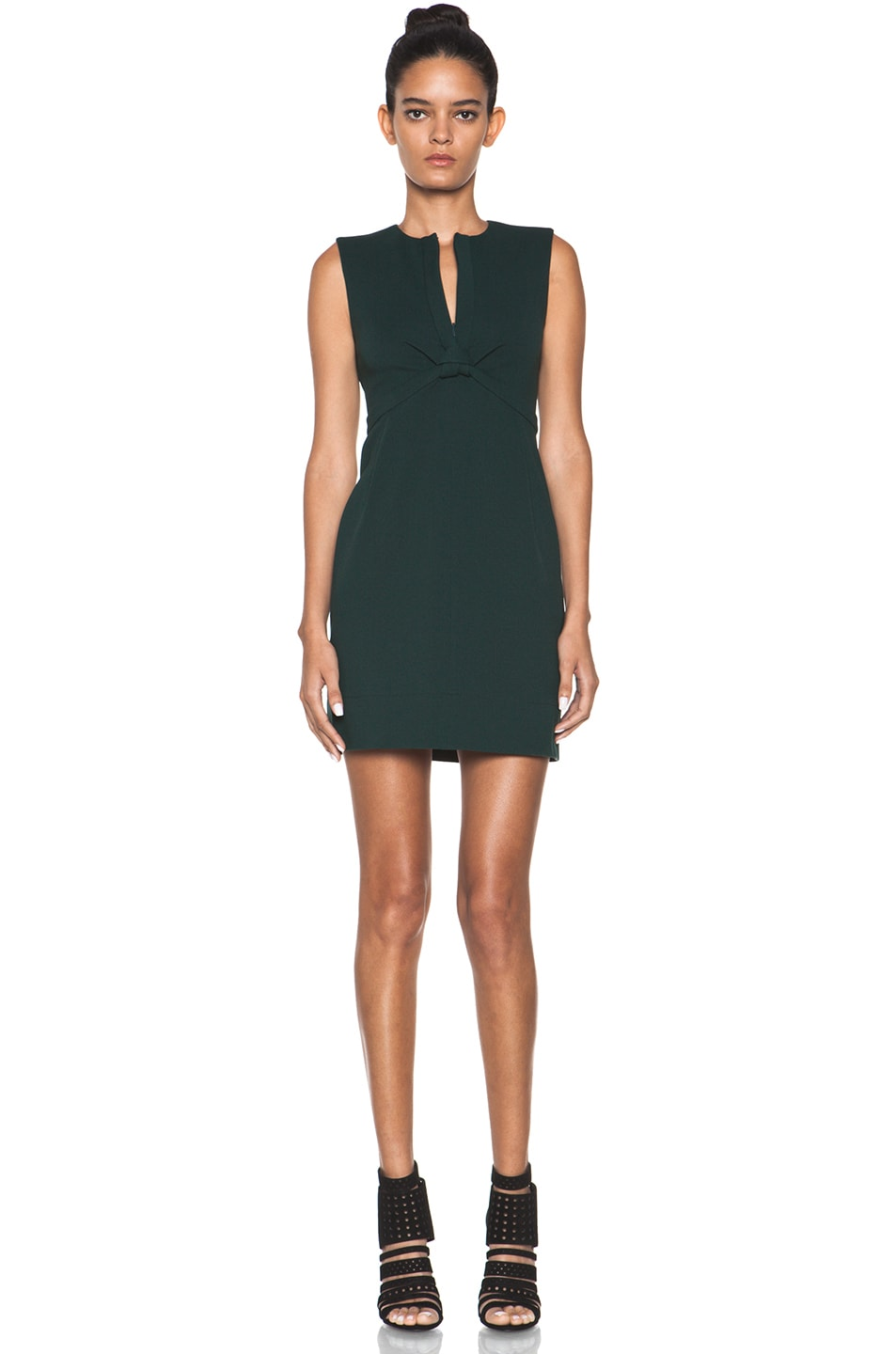 Image 1 of Diane von Furstenberg Savri Dress in Mallard Green