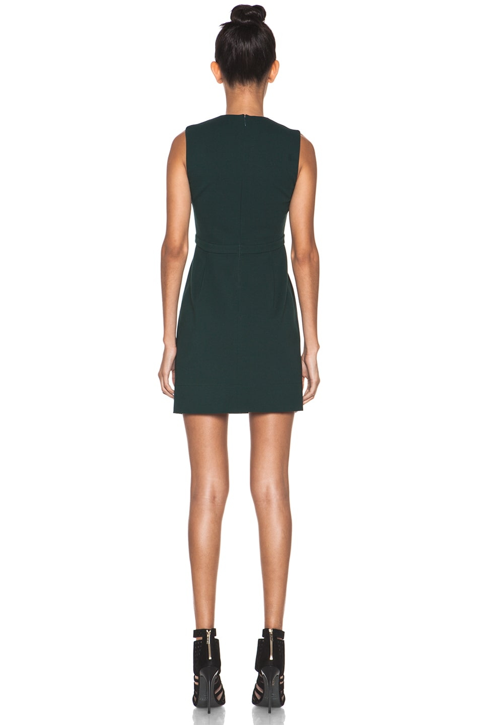Image 4 of Diane von Furstenberg Savri Dress in Mallard Green
