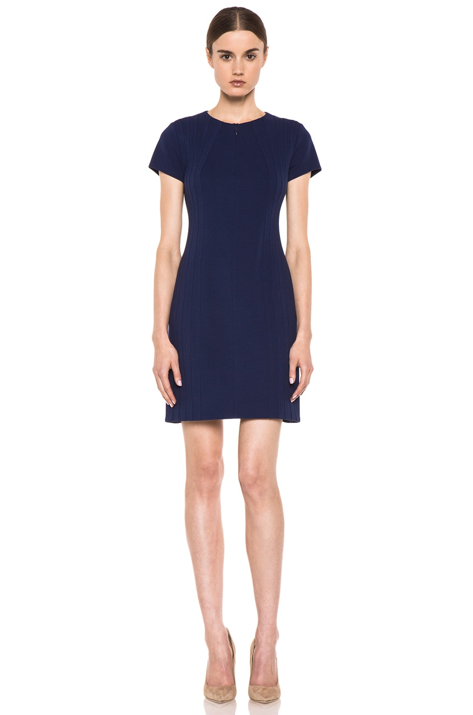 Image 2 of Diane von Furstenberg Kaelyn Dress in Deep Sapphire