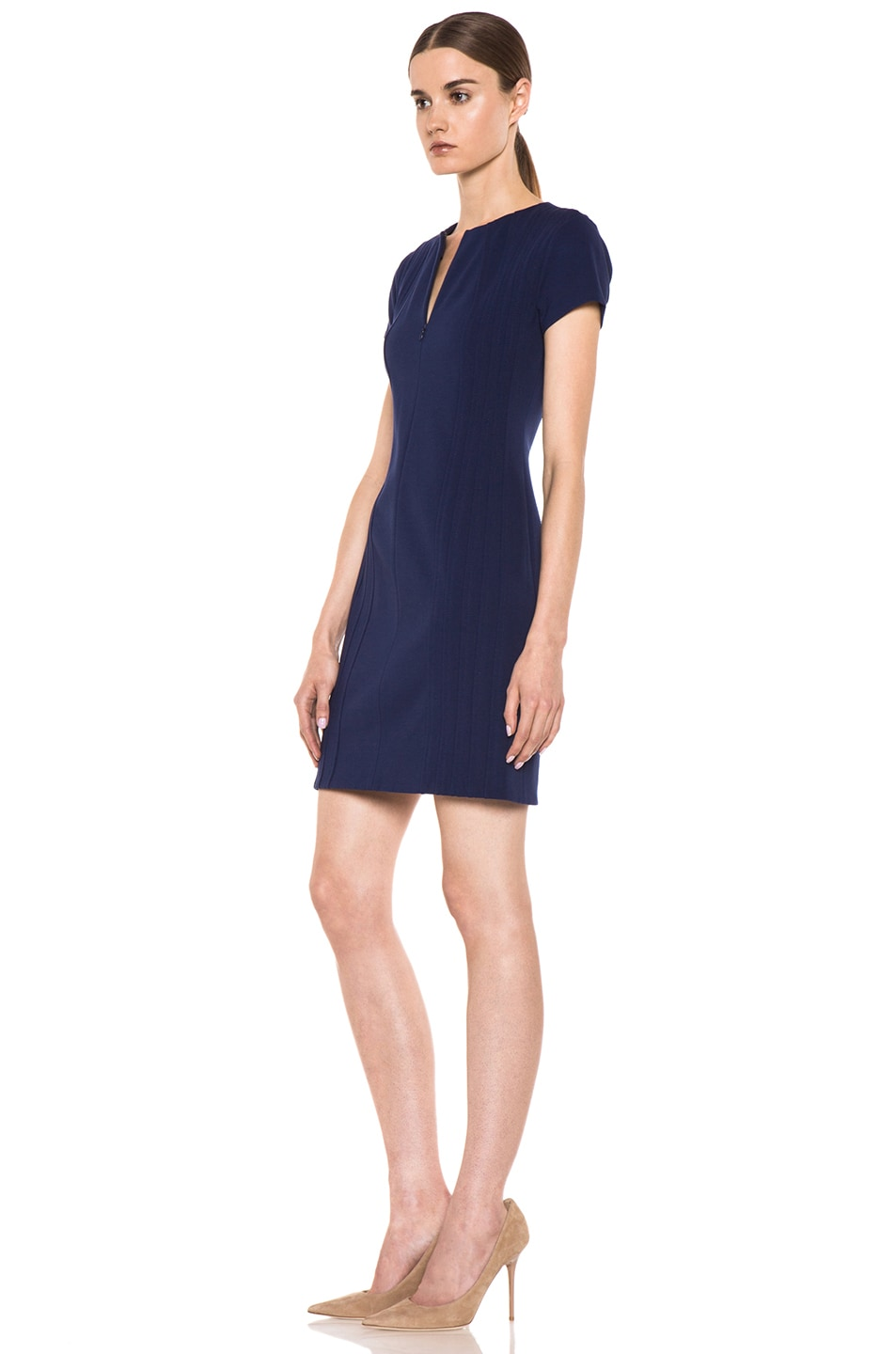 Image 3 of Diane von Furstenberg Kaelyn Dress in Deep Sapphire