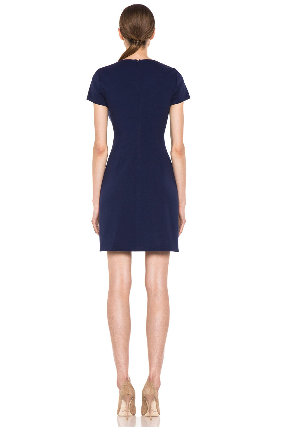 Image 5 of Diane von Furstenberg Kaelyn Dress in Deep Sapphire