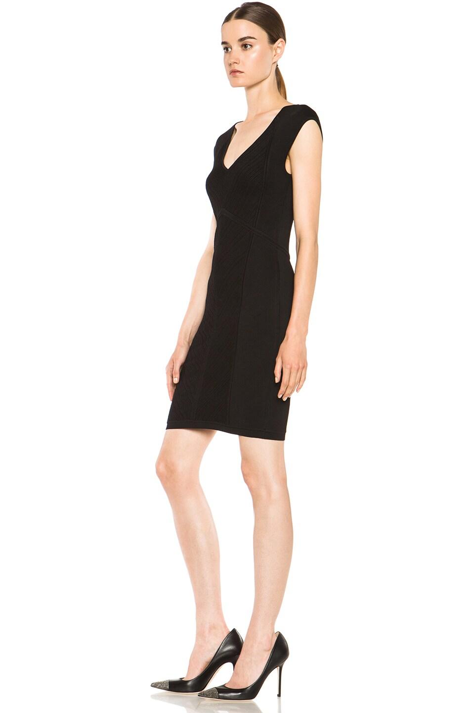 Image 2 of Diane von Furstenberg Cressida Knit Dress in Black