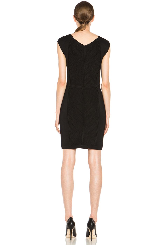 Image 4 of Diane von Furstenberg Cressida Knit Dress in Black