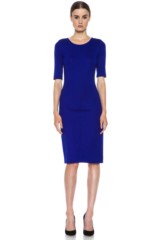 Diane von Furstenberg Raquel Dress in Tanzanite Blue - FWRD
