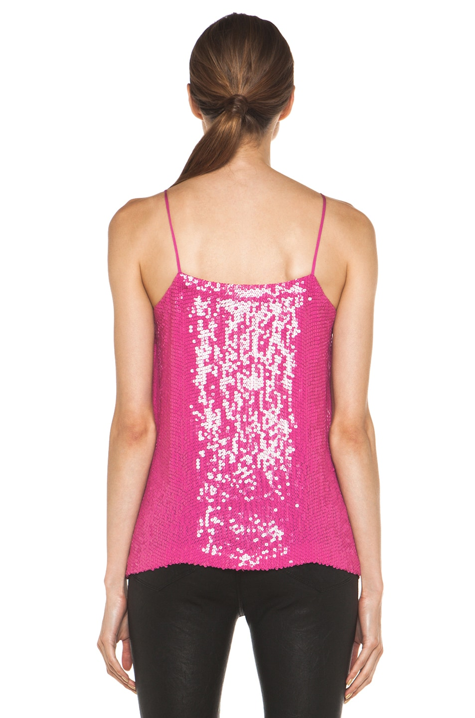 Image 4 of Diane von Furstenberg Cammie Top in Pink