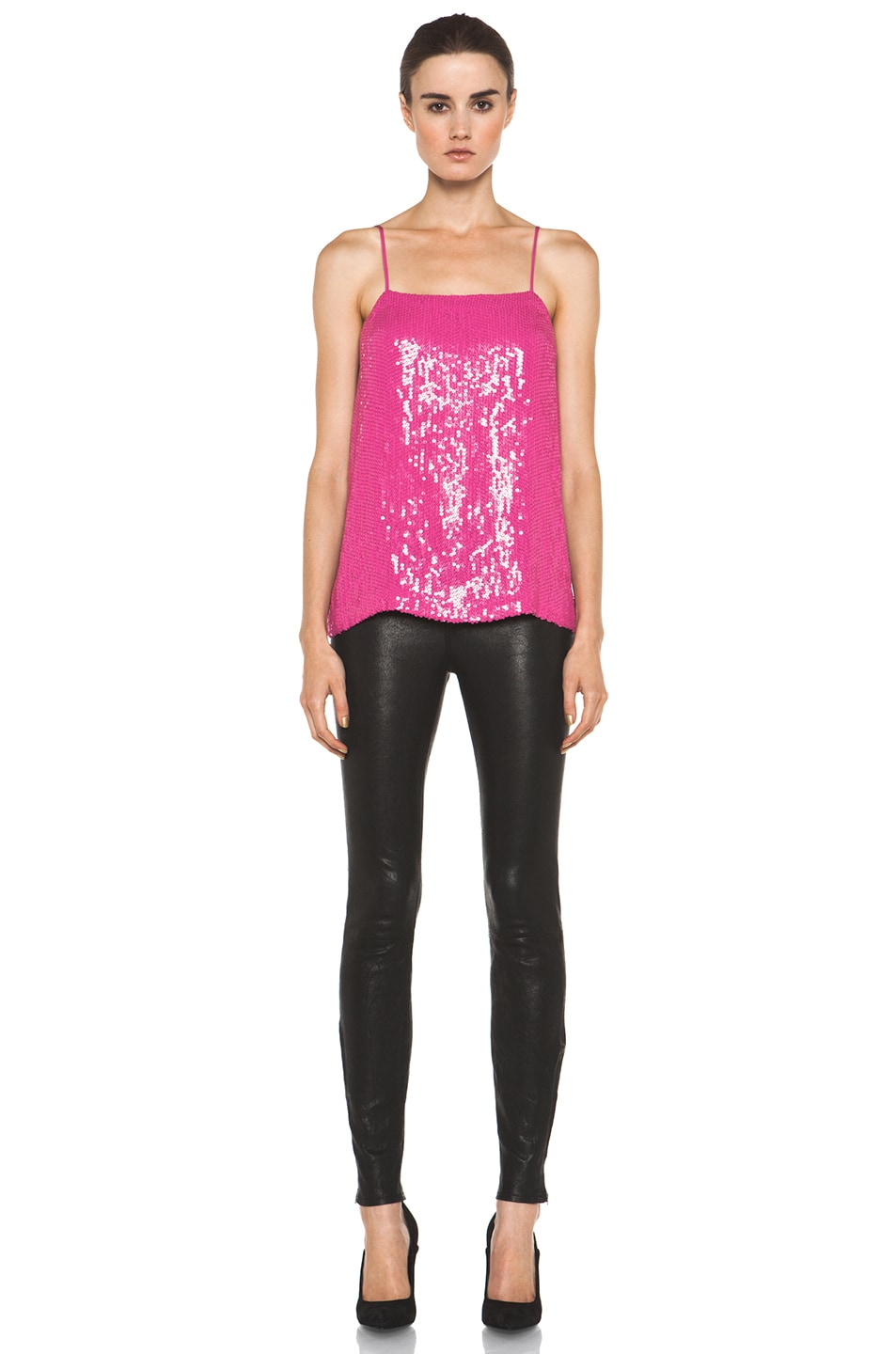 Image 5 of Diane von Furstenberg Cammie Top in Pink