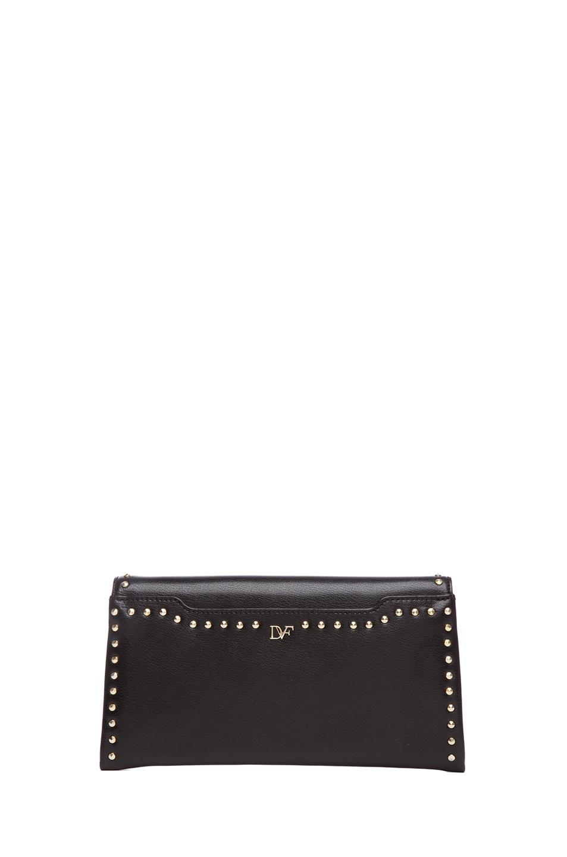 Image 2 of Diane von Furstenberg 440 Envelope Clutch in Black