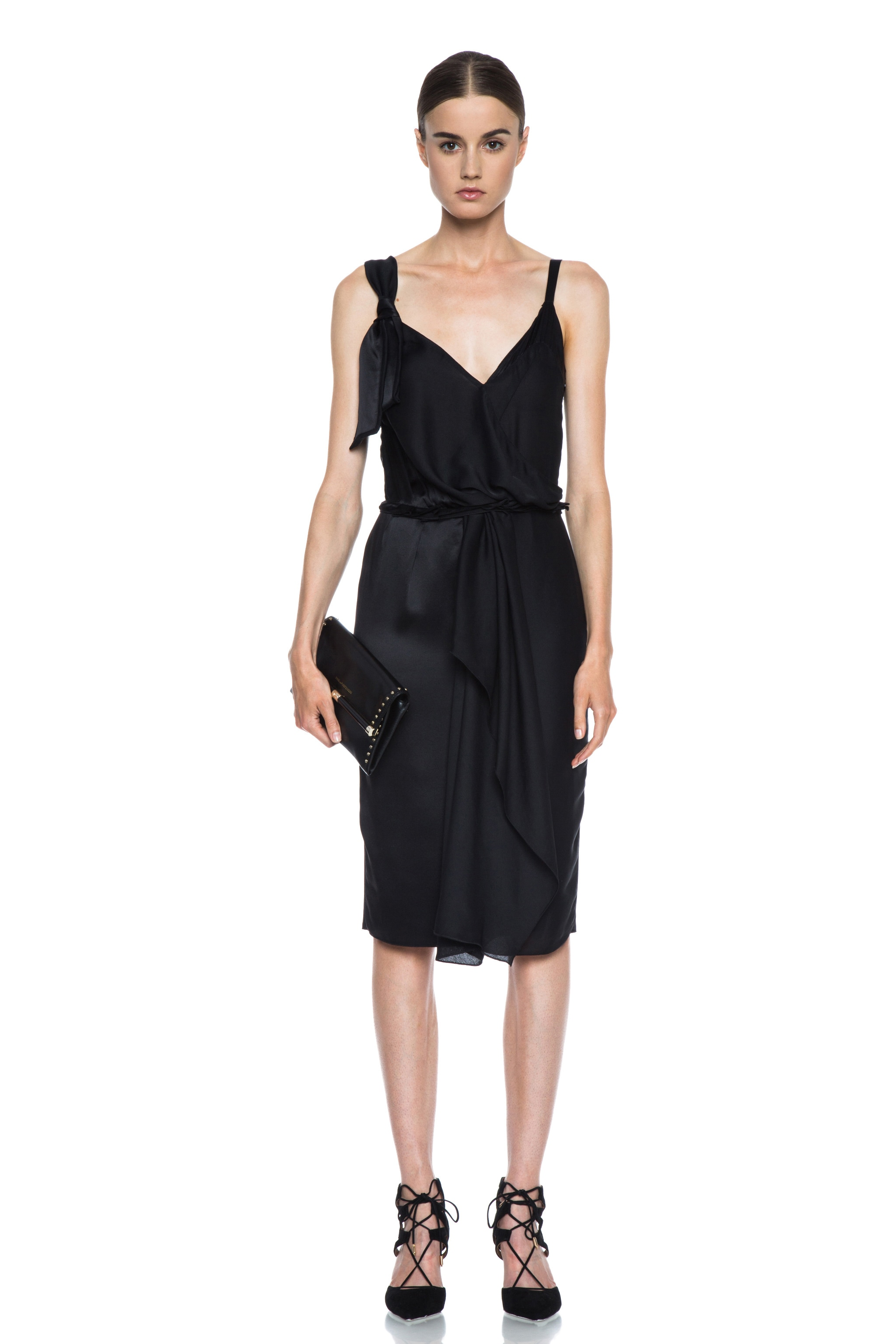 Image 5 of Diane von Furstenberg 440 Envelope Clutch in Black