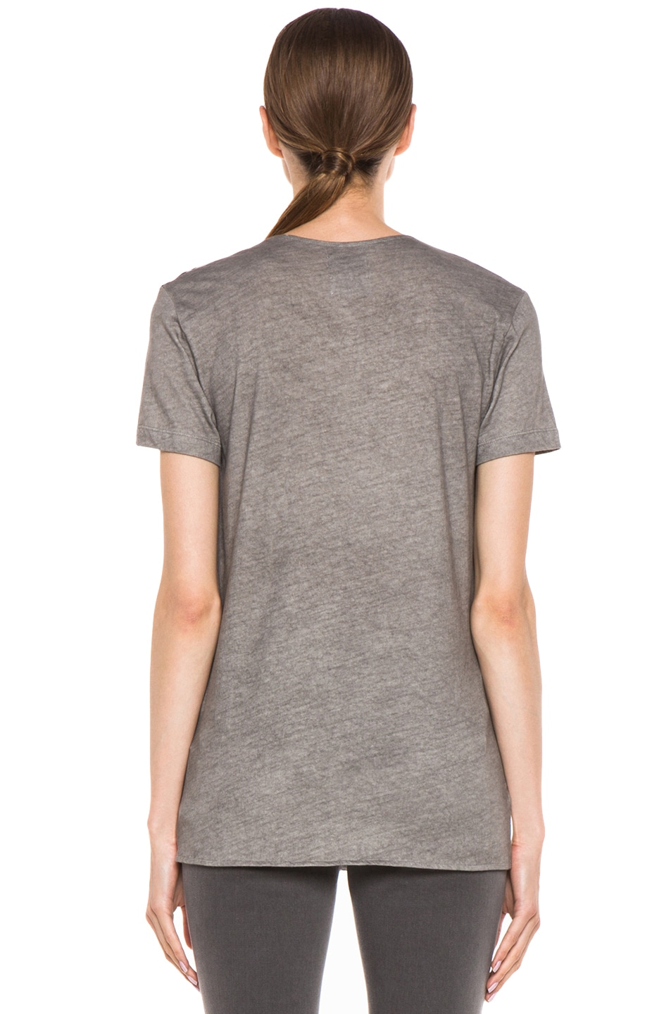 Image 4 of EACH x OTHER By Thomas Lelu Unique 'Want to Get High' Tee in Grey