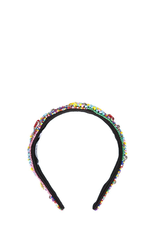 Image 1 of Eugenia Kim Ruby Headband in Multi