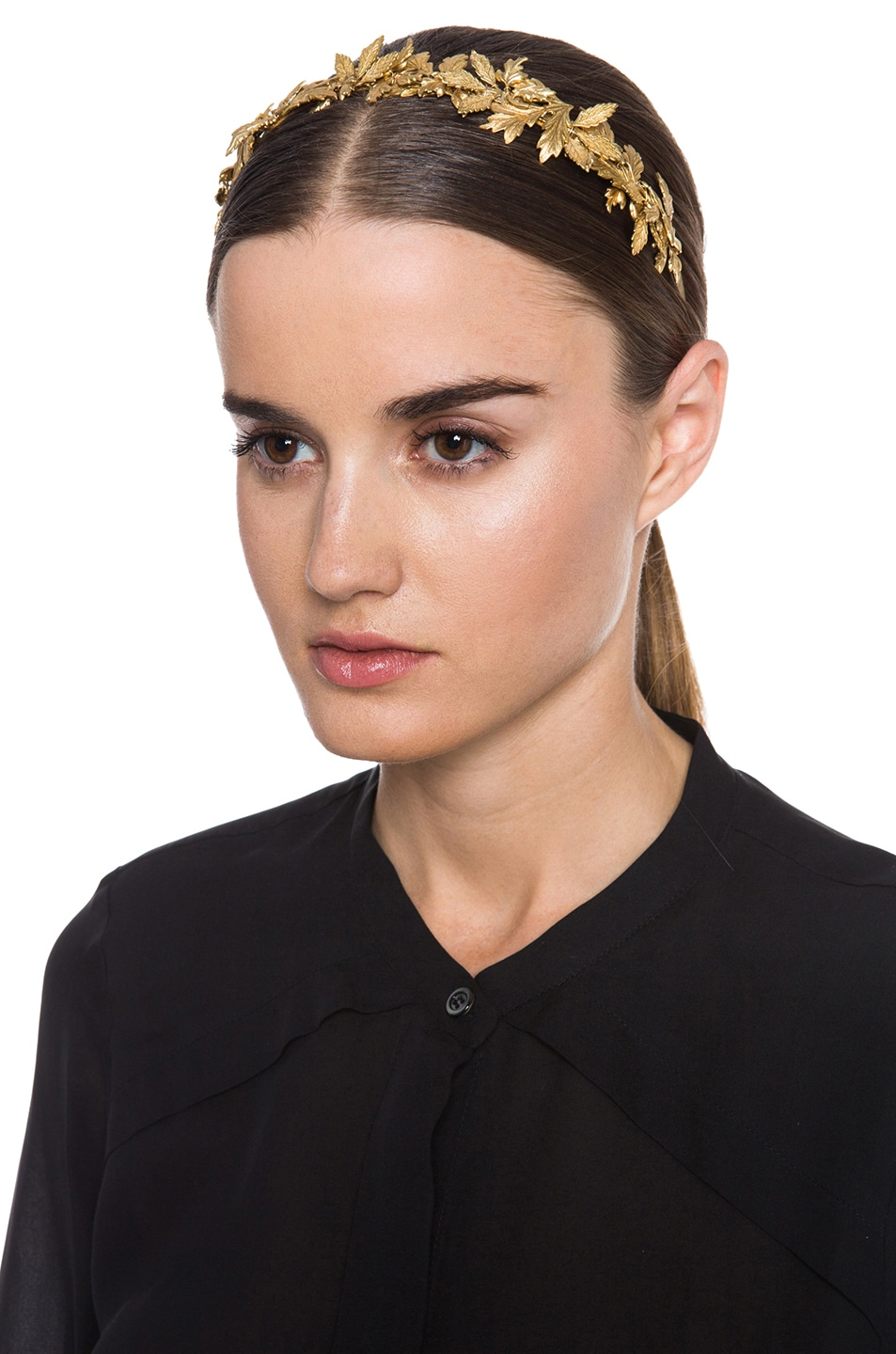 Image 1 of Eugenia Kim Diana Headband in Gold