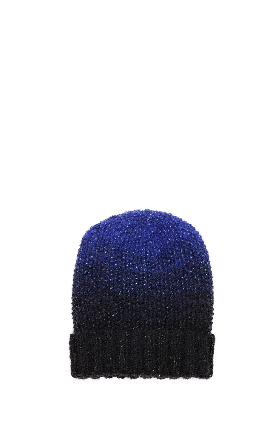 Image 1 of Eugenia Kim Asha Beanie in Blue & Black