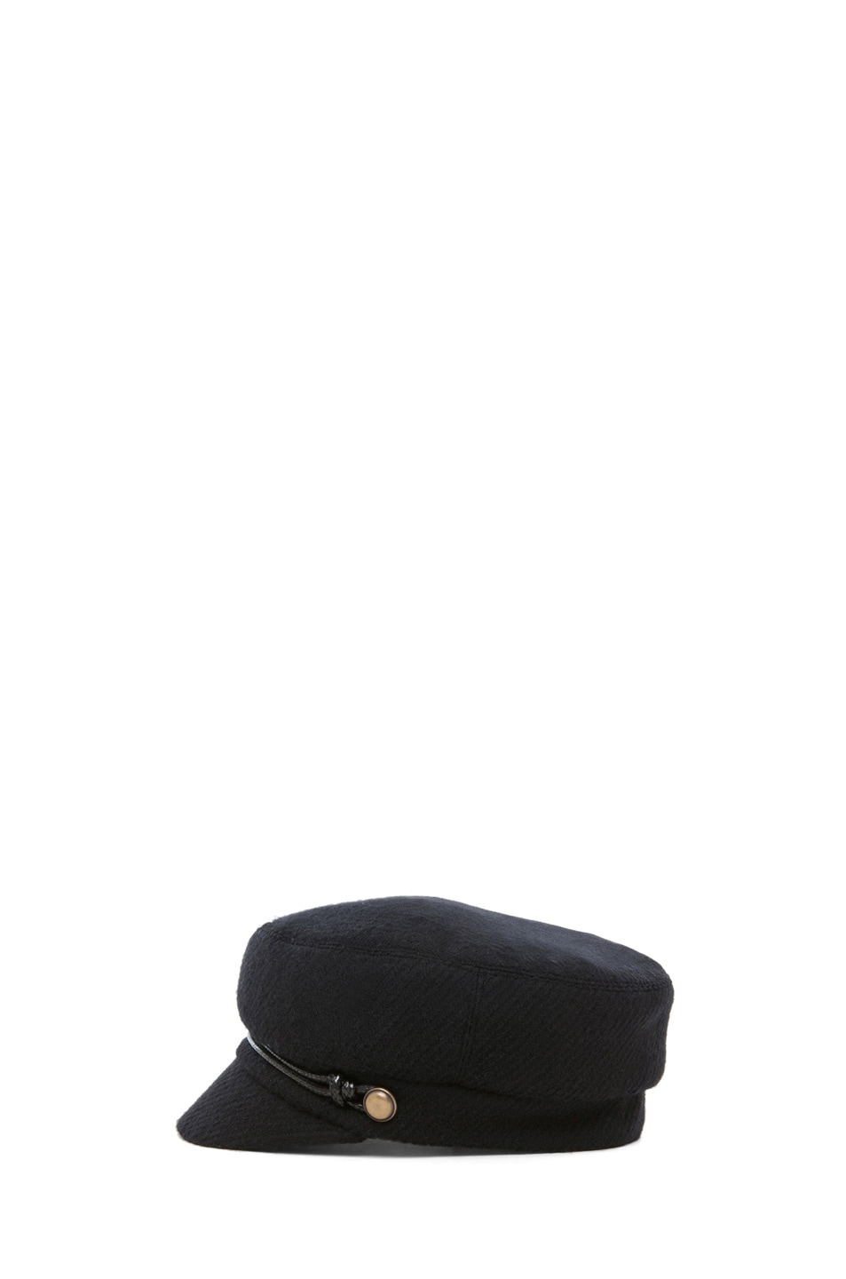 Image 3 of Eugenia Kim Elyse Boucle Cashmere Cap in Black