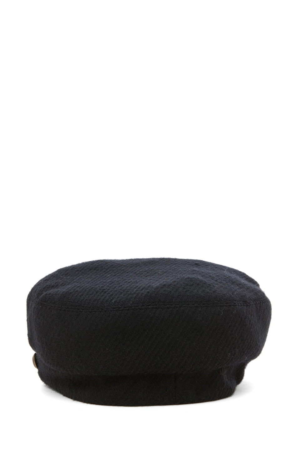 Image 4 of Eugenia Kim Elyse Boucle Cashmere Cap in Black
