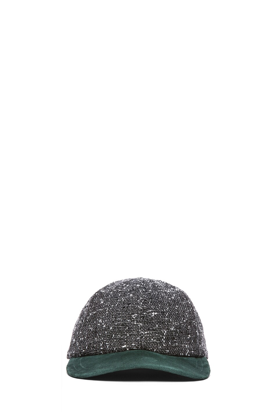 Image 1 of Eugenia Kim Darien Baseball Cap in Charcoal Tweed