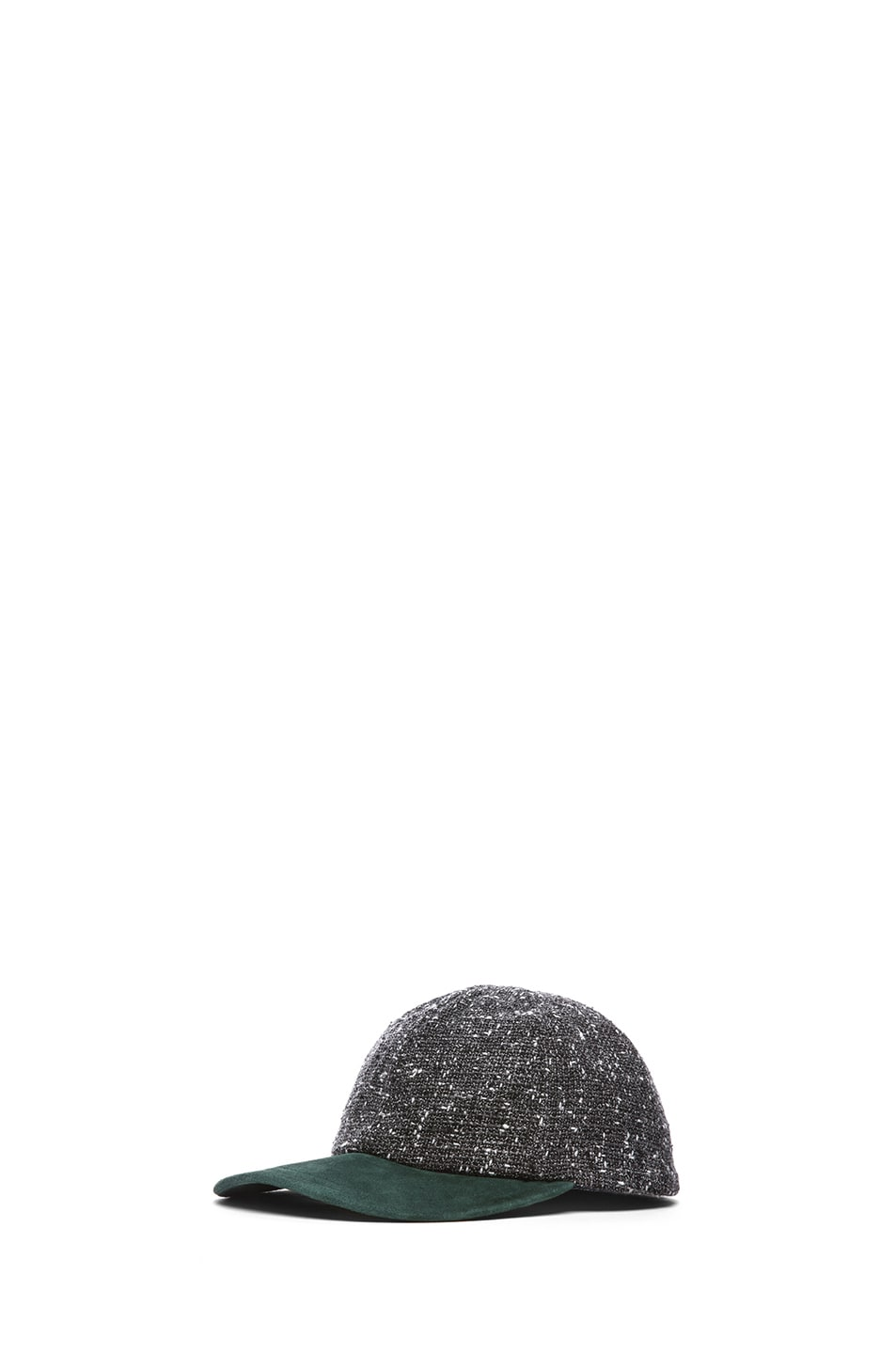 Image 2 of Eugenia Kim Darien Baseball Cap in Charcoal Tweed